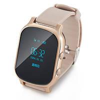 Детские умные часы с GPS трекером Т58 Gold
