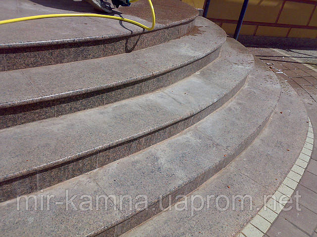 Услуги по чистке гранита (мрамора) восстановление первоначального, красивого вида