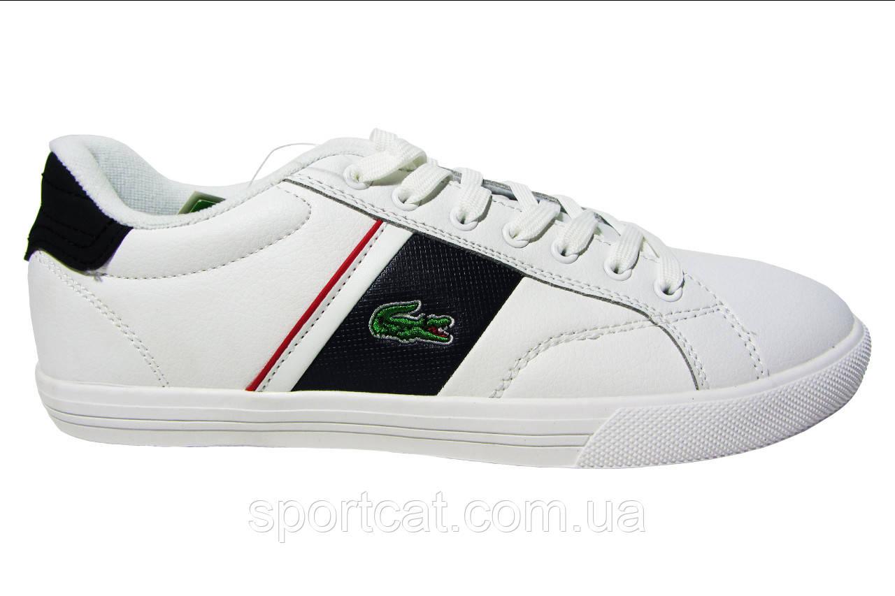 eb14d88a519a Мужские кроссовки Lacoste, кожаные, белые от интернет-магазина ...
