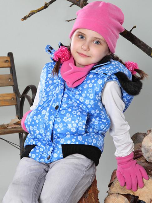 Стильная демисезонная детская жилетка для девочки. Разные цвета