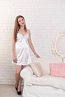 Белая ночная сорочка