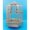 Вольер для больших попугаев из нержавейки King's Cages (188cm)