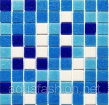 Мозаика для бассейна голубая с синим Vivacer GLmix11