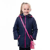 """Детская куртка + сумкой для девочки """"Лиона"""" оптом и в розницу"""