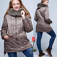 Зимняя Куртка с капюшоном  GT 23217  Размер  50  52  54  56  58  60, фото 1
