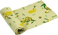 Полотенце вафельное Руно 35*70см Лимон