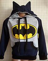 Детская толстовка для мальчика Бэтмен 92-110 см