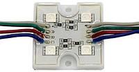 Светодиодные модули (кластеры) RGB SMD5050 (4LED)