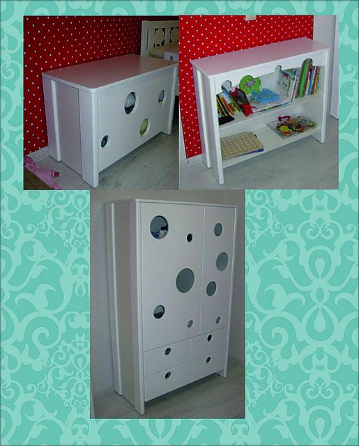 Матированая мебель для детской комнаты