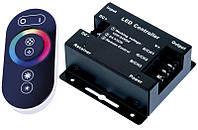 Контроллер для RGB ленты с сенсорным пультом (радио 433MHz)
