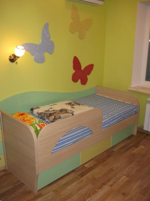 Практичная мебель для детской комнаты ЛДСП