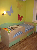 Практичная мебель для детской комнаты ЛДСП, фото 1