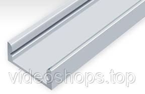 Профиль светодиодный накладной №1 (комплект) 2м прозрачная