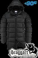 Куртка удлиненная Braggart Dress Code - 2041C графит