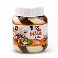 Шоколадно - молочная паста со вкусом ореха Nuss Milk 400гр. (Польша)