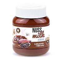 Шоколадно - молочная паста Nuss Milk 400гр. (Польша)
