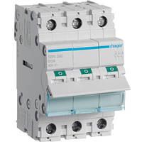 Выключатель нагрузки Hager 3-полюсный, 100 А, SBN390