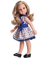 Кукла  ПОДРУЖКА КАРЛА В ГОРОШЕК ИСПАНИЯ 32 см PAOLA REINA 04506