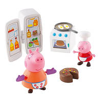 Игровой мини-набор Peppa - КУХНЯ ПЕППЫ (кухонная техника, 2 фигурки)
