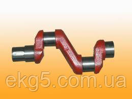 Вал коленчатый компрессора  ЭК-7В(запчасти к компрессорам ЭК-7в, ЭК-4М, ВВ-0.8)