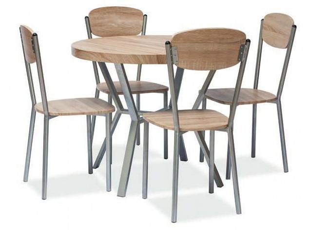 Комплект Amaro стол и 4 стула