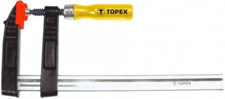 Струбцина тип F  80 x 300 мм (шт.) TOPEX (12A120), фото 2
