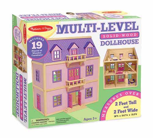 Многоэтажный Деревянный Домик, Melissa&Doug - Мы растем! - интернет магазин детских игрушек  и товаров в Киеве