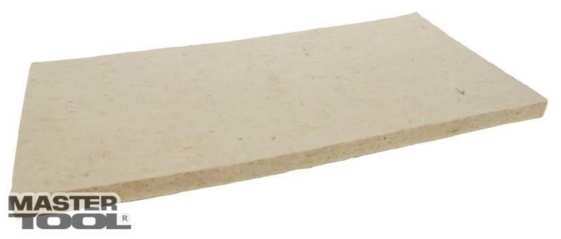Запаска к терке с войлочным покрытием 10мм Mastertool (08-1301), фото 2