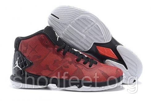 Jordan Super Fly 4 black\red
