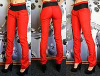 Красные женские брюки, фото 1
