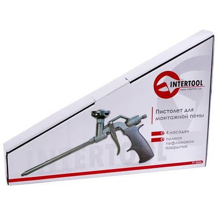 Пистолет для монтажной пены с полным тефлоновым покрытием профессиональный INTERTOOL PT-0606, фото 2