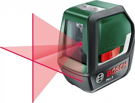Лазерный нивелир Bosch PLL 2 EEU (0603663420), фото 2