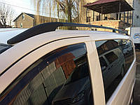 Mercedes Viano Черные рейлинги с пласт-м креплением длинная база ExtraLong