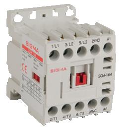 Миниконтактор 48V 3-х полюсный, доп.контакт 1НЗ 5,5 kW 12А АС-3 48В на DIN дин рейку цена купить