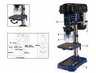 Станок сверлильный, 500 Вт, сверло 3-16 мм, вылет 115 мм Einhell Blue BT-BD 501 4250530