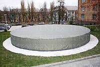 Тент-накрытие на фонтан с каркасом. Киевгаз.