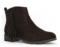 Женские ботинки Herminа brown, фото 1
