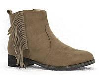 Женские ботинки Herminа khaki , фото 1