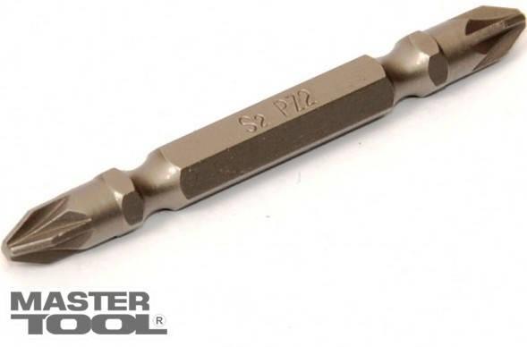 Насадки отвёрточные РZ2-РZ2*65 мм, S2, 10 шт Mastertool (10-92-651), фото 2