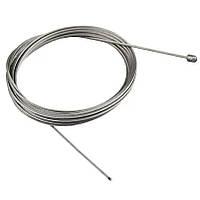 Трос стальной в оплётке (длина (1.0 м) (1.2 м) (1.5 м)