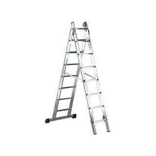 Двухсекционная лестница NEW LUXE 2x13 - 12+13 (6,75 m разл.) SVELT (SCNX2040), фото 2