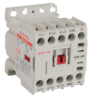Миниконтактор 24в 3-х полюсный, доп.контакт 1НЗ, 2,2 kW 6А АС-3 цена купить
