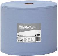 Нетканый протирочный материал Katrin Plus Poly Roll X L Blue (cellulose)