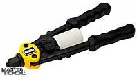 Пистолет для заклепок двуручный ПРОФИ, CrMo 280 мм Ø 2,4/3,2/4,0/4,8 мм Mastertool (21-0710)