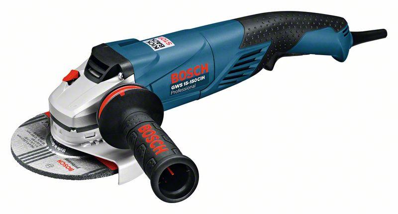 Углошлифмашина Bosch GWS 15-150 CIH (0601830522) Картон