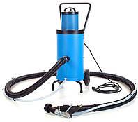 Ручной вакуумный дробеструй LTC 1030 EP электро, закрытый цикл абразива