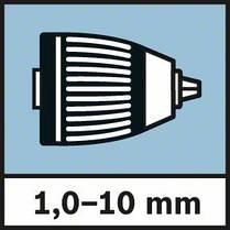 """Акк.дрель-шуруповерт Li-Ion Bosch GSR 10.8-2-LI (""""solo"""") (0601868101) Картон соло, фото 3"""