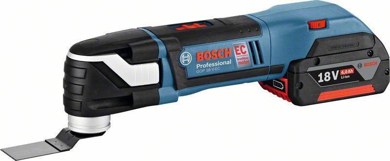 """Акк. универсальный резак Bosch GOP 18 V-EC (''solo"""") (06018B0001) Картон соло"""