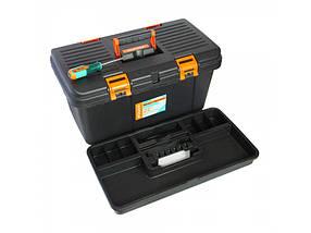 """Ящик для инструментов 22"""" 575х330х280мм двухстор. крышка Sturm  (TB21522)"""
