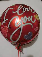 Воздушные шары Красный